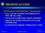 remote access46