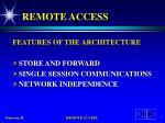 remote access5
