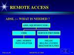 remote access54