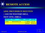 remote access55