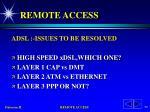 remote access57
