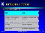 remote access67
