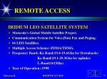 remote access70