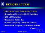 remote access73