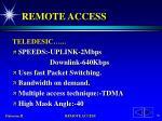 remote access74