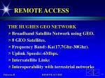 remote access75