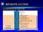 remote access78