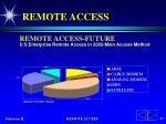 remote access83