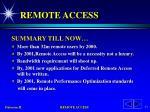 remote access9