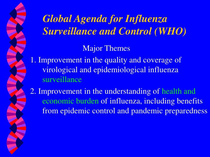 Global Agenda for Influenza Surveillance and Control (WHO)