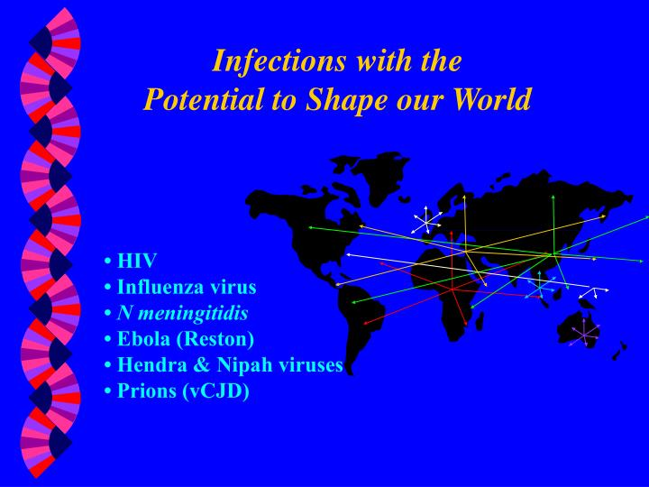 Infections with the