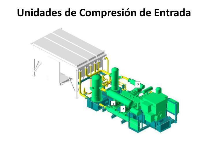 Unidades de Compresión de Entrada