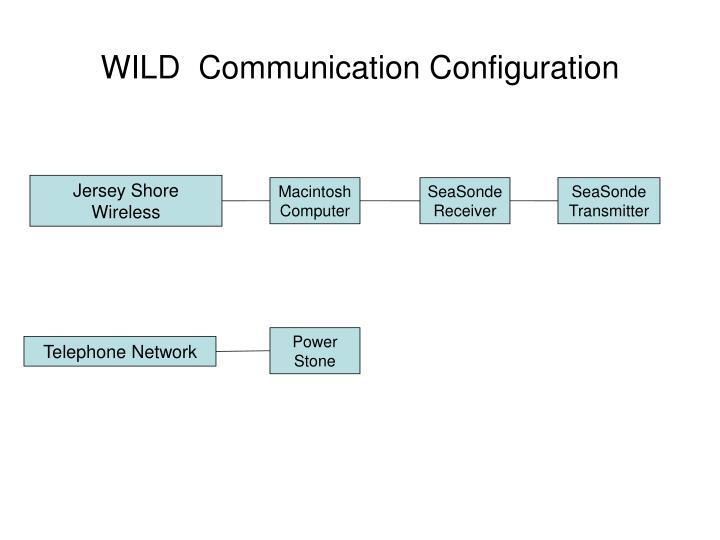 WILD  Communication Configuration