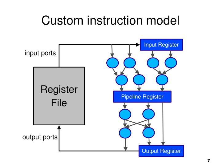 Custom instruction model