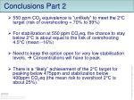 conclusions part 2