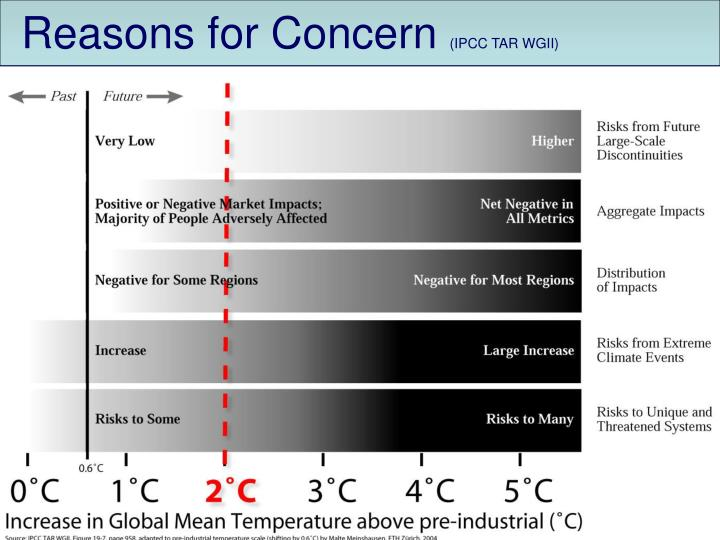 Reasons for Concern