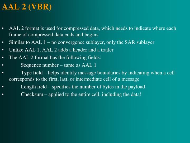 AAL 2 (VBR)