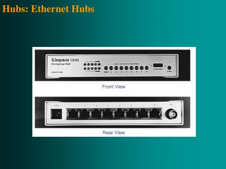 Hubs: Ethernet Hubs