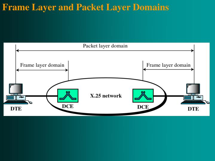 Frame Layer and Packet Layer Domains