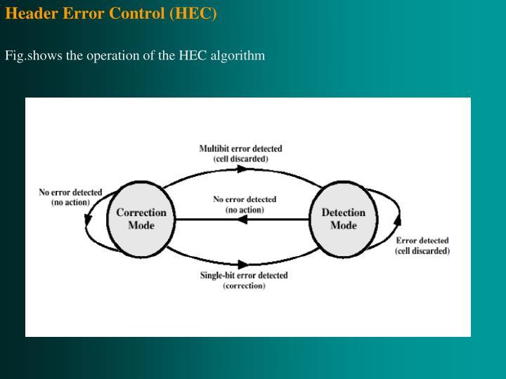 Header Error Control (HEC)