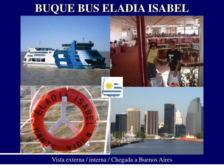 BUQUE BUS ELADIA ISABEL