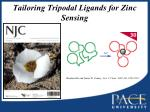 tailoring tripodal ligands for zinc sensing