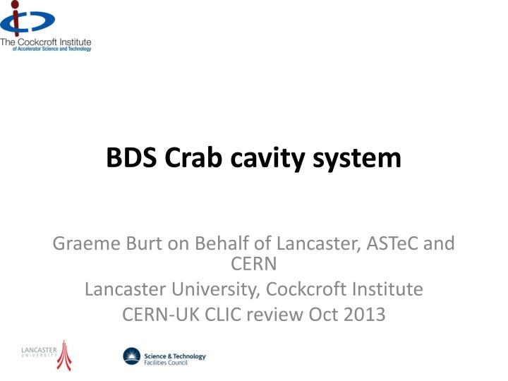 Bds crab cavity system
