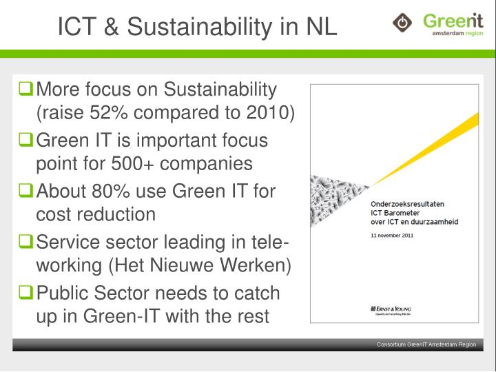 Ict sustainability in nl