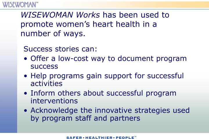 WISEWOMAN Works