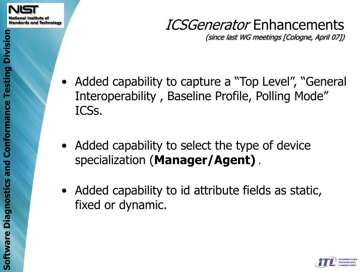 ICSGenerator