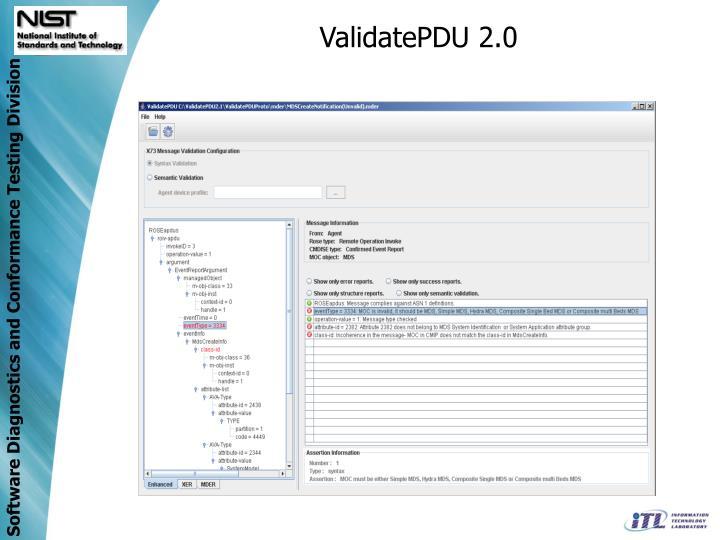 ValidatePDU 2.0