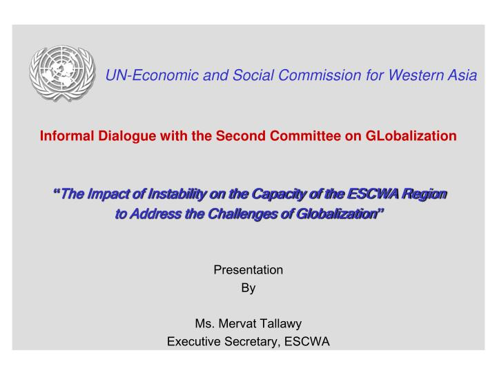 UN-Economic and Social Commission for Western Asia