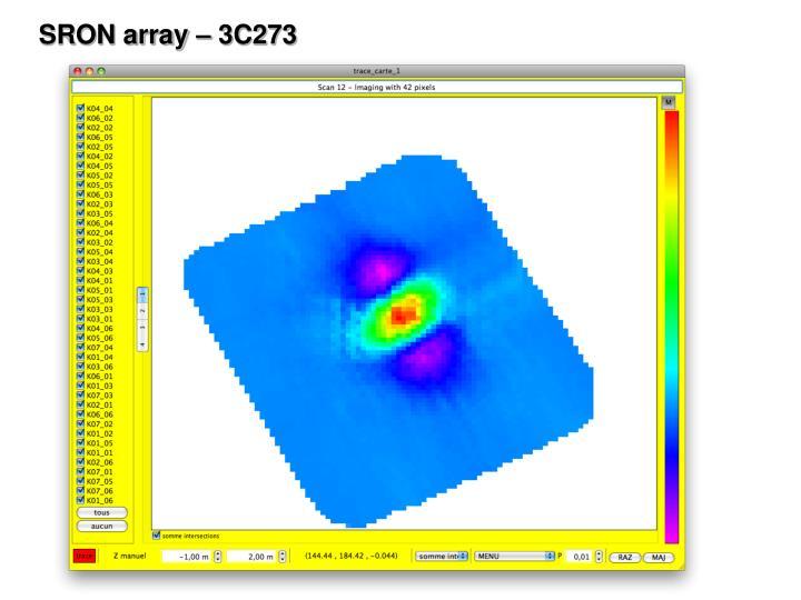 SRON array – 3C273