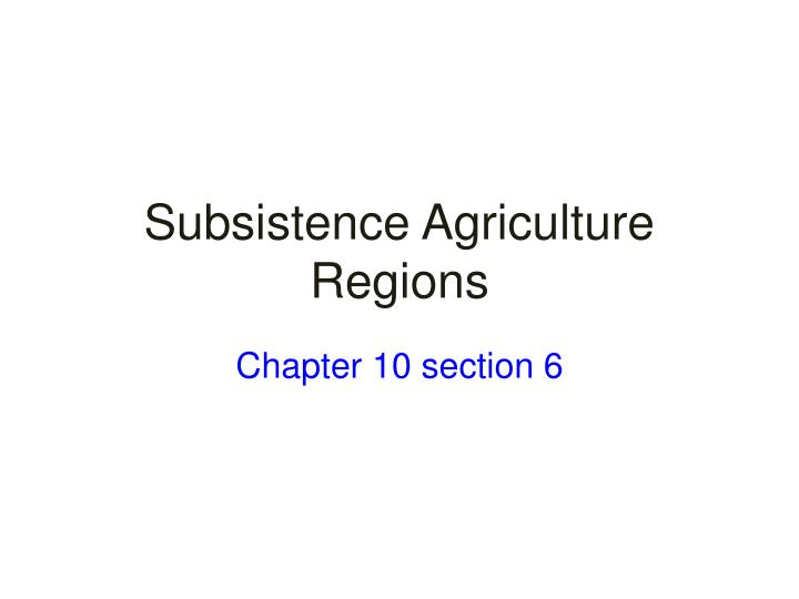 Chapter 10 section 6