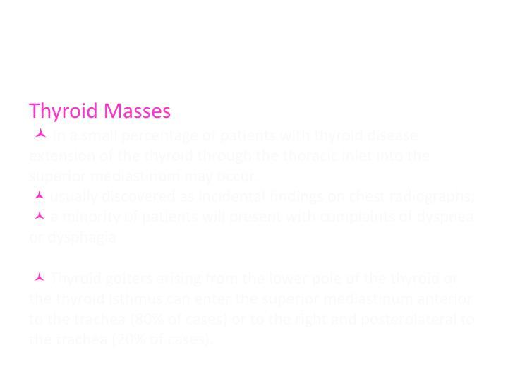 Thyroid Masses
