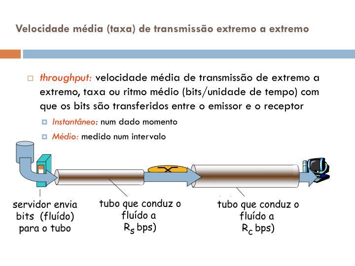 tubo que conduz o flu