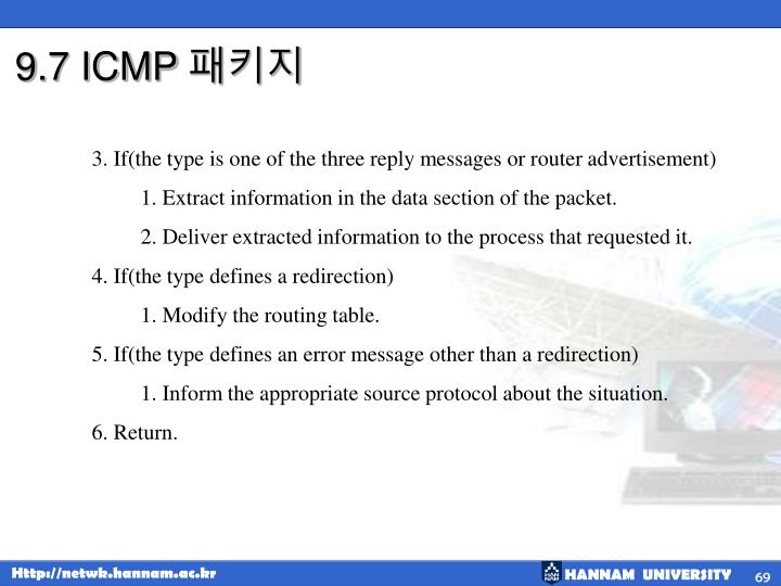 9.7 ICMP