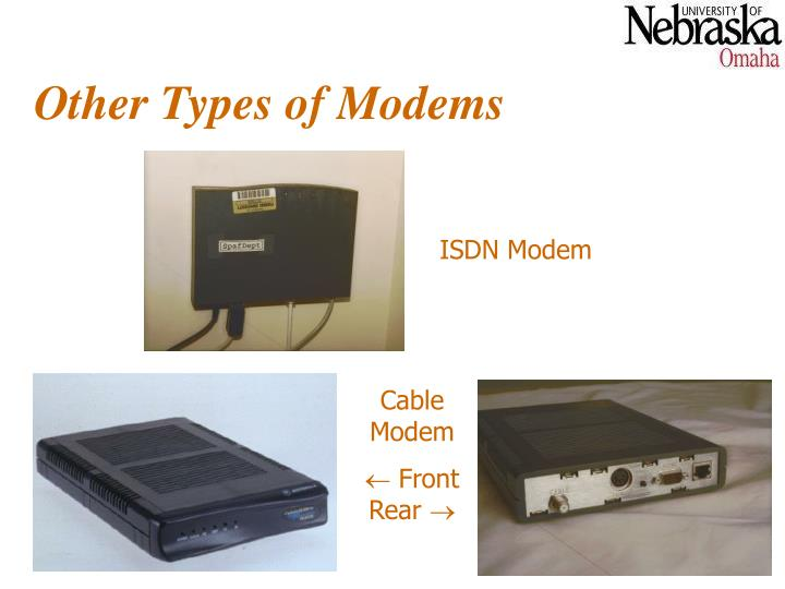 Other Types of Modems