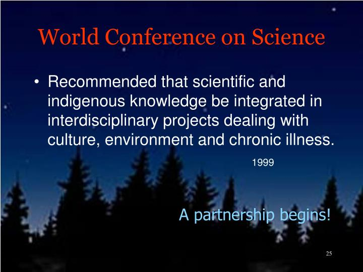 World Conference on Science