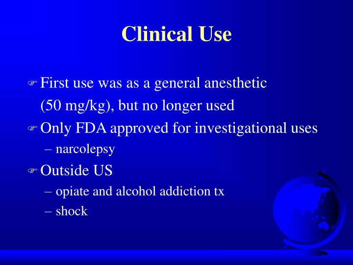 Clinical Use