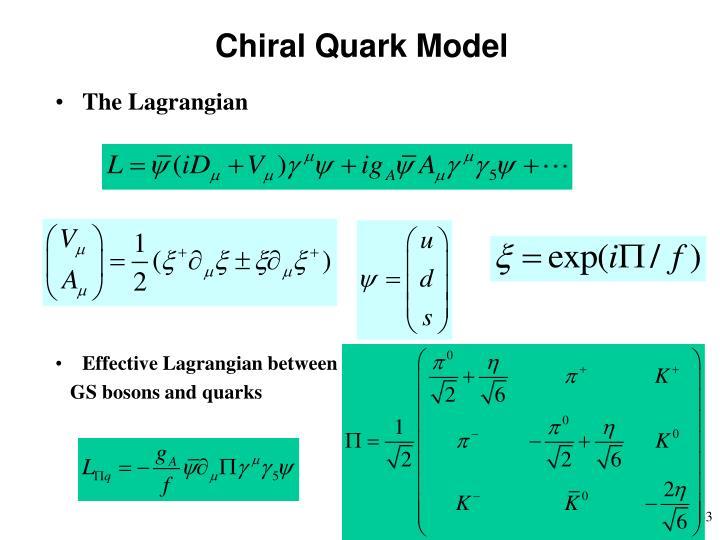 Chiral Quark Model