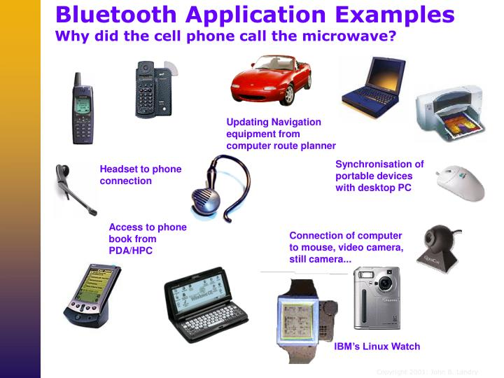 Bluetooth Application Examples