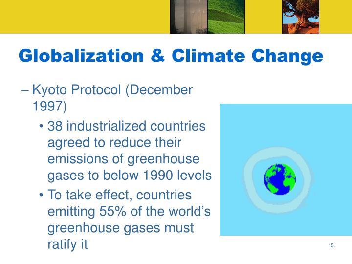Globalization & Climate Change