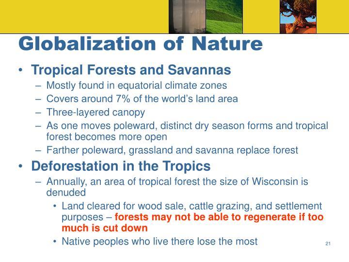 Globalization of Nature