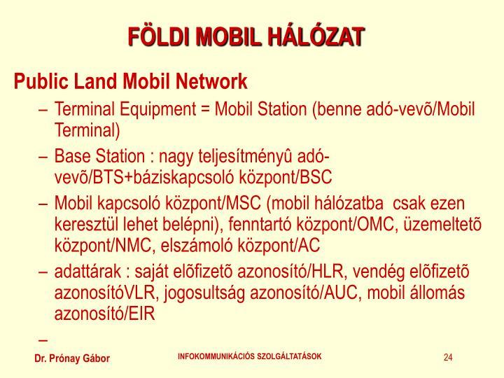 FÖLDI MOBIL HÁLÓZAT