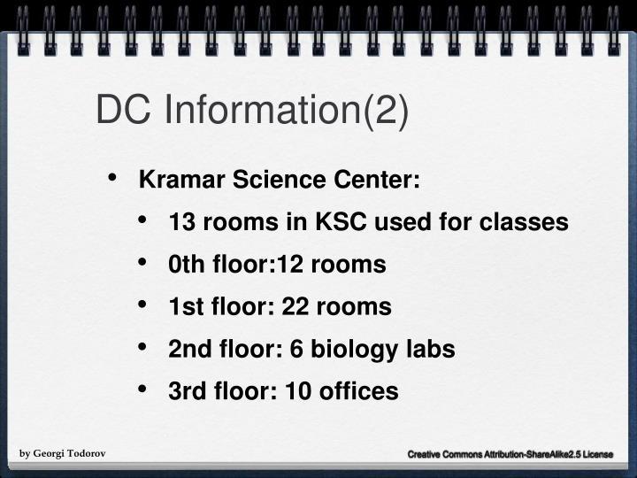 DC Information(2)