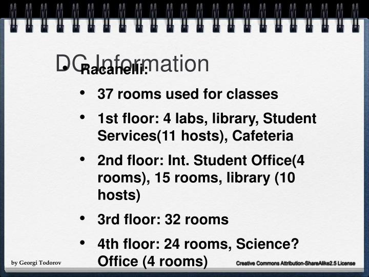 DC Information
