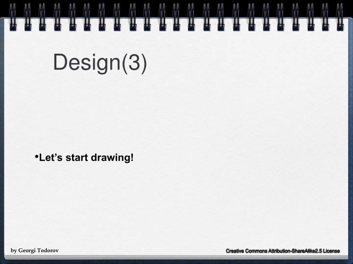 Design(3)