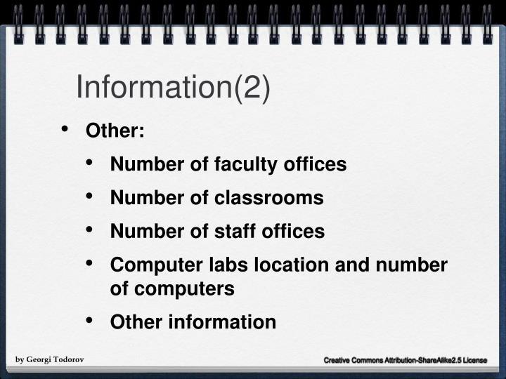 Information(2)