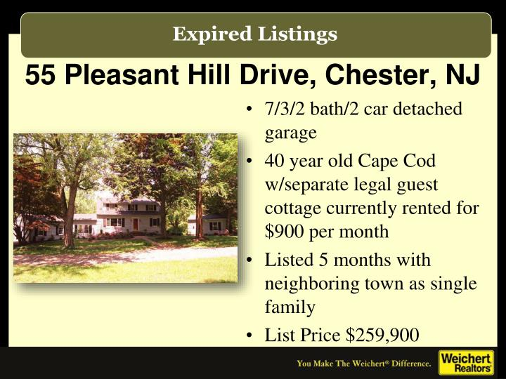 55 Pleasant Hill Drive, Chester, NJ